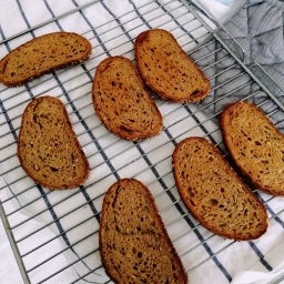 How To Make Buttery Toast… Without a Toaster