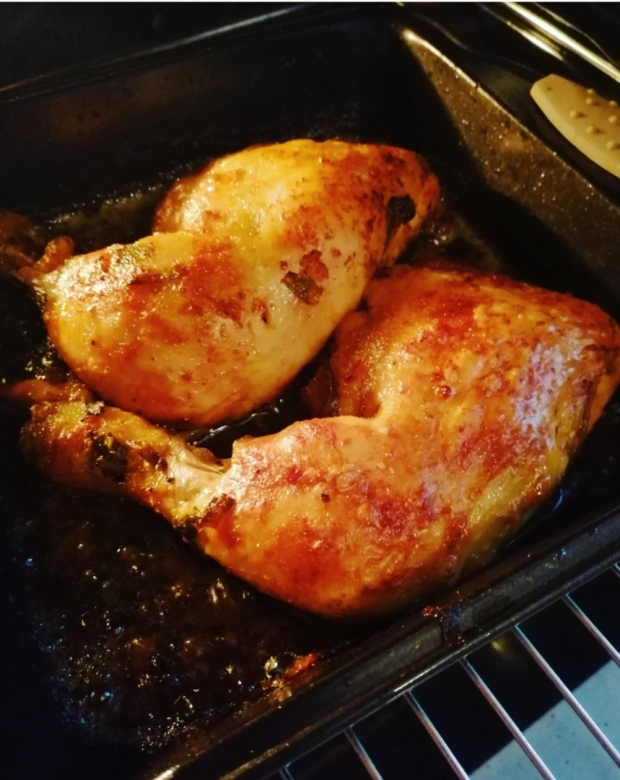 Curry and Ginger Baked Chicken